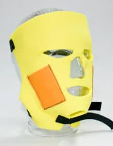 facial iontophoresis treatment electrodes for hyperhidrosis