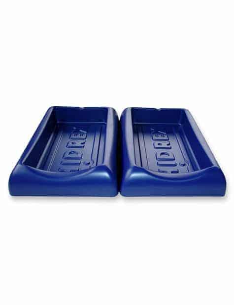 ergonomic iontophoresis treatment trays